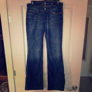Hardly worn 7 For All Mankind jeans!